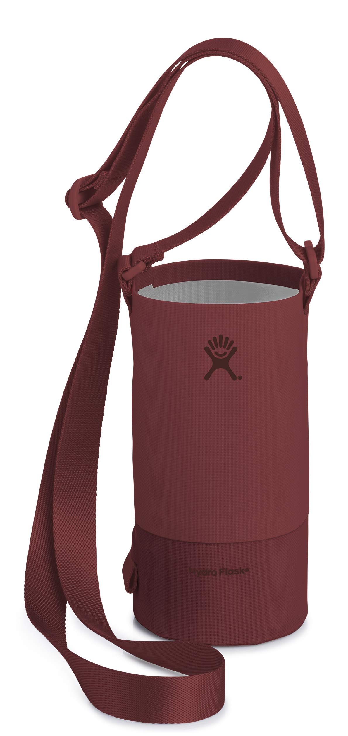 Hydro Flask Large Soft Sided Nylon Tag Along Water Bottle Sling with Pockets, Brick (Fits 32 oz and 40 oz Bottles)