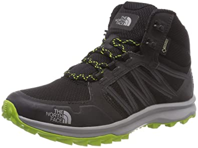 99f397083e THE NORTH FACE Men s Litewave Fastpack Mid Gore-tex High Rise Hiking Boots