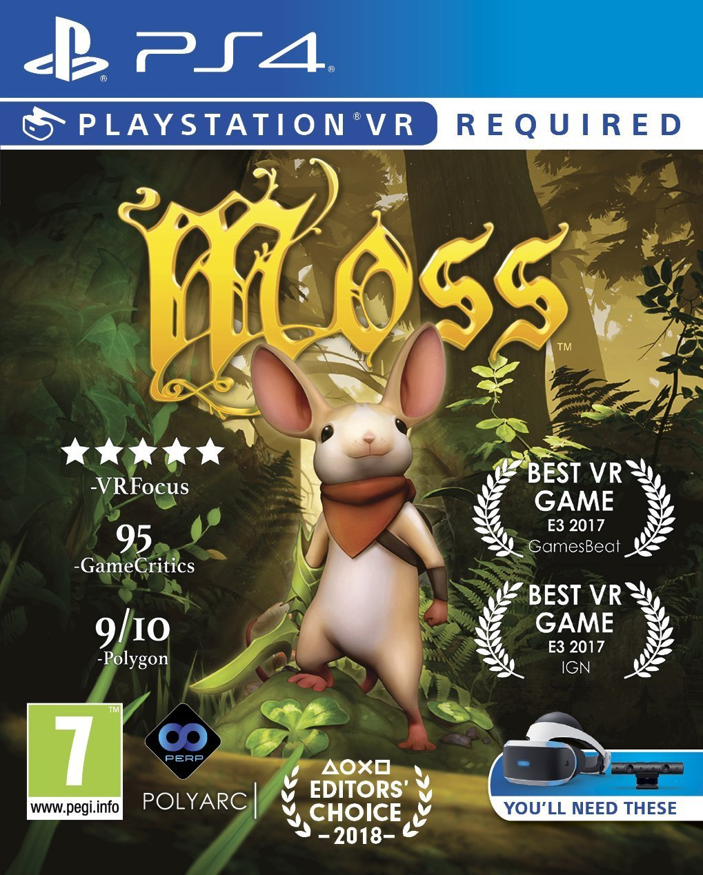 Moss PS4 Game (PSVR Required): Computer and Video Games