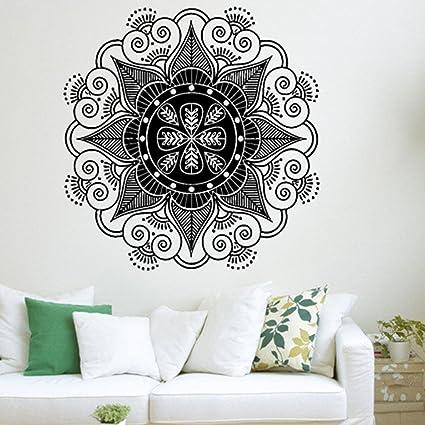 Efitty Large Mandala Flower Wall Decal Home Decor Art Wallpaper Mural