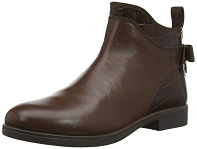 9fd8c0f56c51 Geox Girls  Agata 25 Leather Zip Ankle Boot
