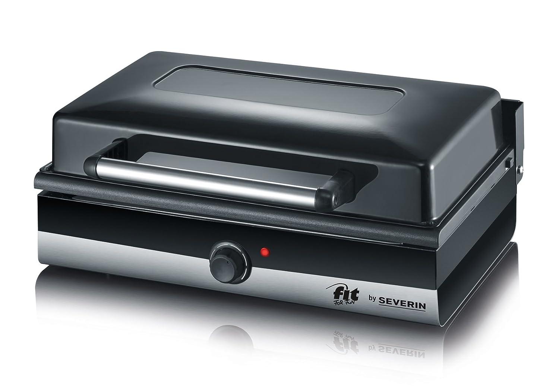 Severin Elektrogrill Smart Line : Amazon.de: severin pg 2368 barbecue grill 2.200w tischgrill