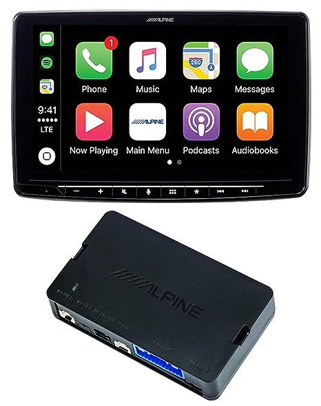 Alpine, receptor CaprPlay Bluetooth de 9 pulgadas + control ACC ...