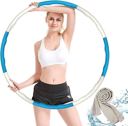 Gindoly Hoola-Hoop-Reifen für Fitness Erwachsene und Kinder