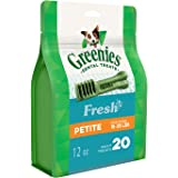 Greenies Freshmint Dental Treat for Petite Dog 340 g, 12 oz