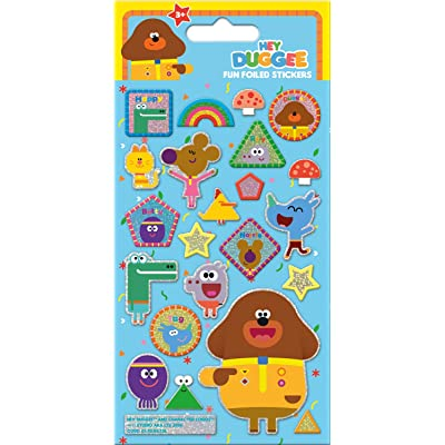 Paper Projects 01.70.06.138 Hey Duggee Foiled Sticker Pack, Various: Toys & Games