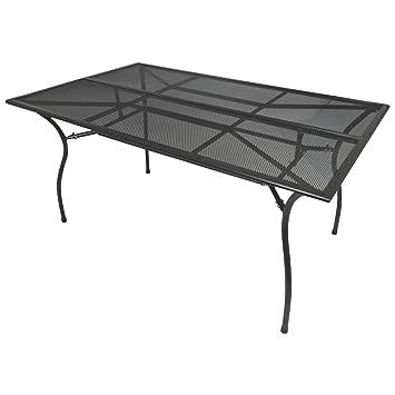 Amazon De Degamo Gartentisch Classic 90x150cm Rechteckig Aus
