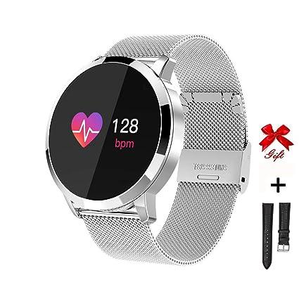 RanGuo Montre Connectée pour Hommes Femmes Enfants, Sports de Plein air Smart Watch Etanche pour