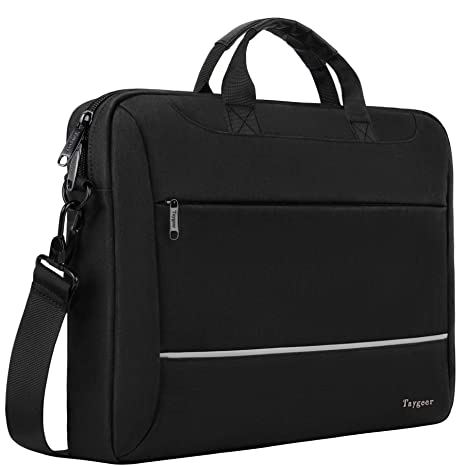 7fc037d83f92 Laptop Bag 15.6 inch, Taygeer Slim Laptop Briefcase for Men Women, Business  Portable Carrying Case Computer Shoulder Bag, Tablet Attache Compatible ...