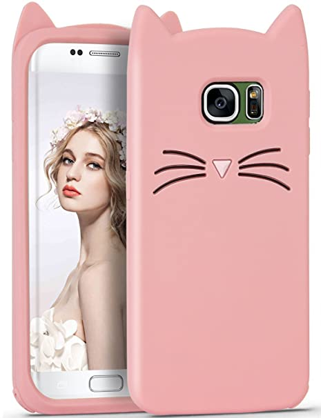 coque rose galaxy s6 edge