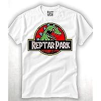Reptar Jurassic Park Rugrats T-rex Playera Rott Wear