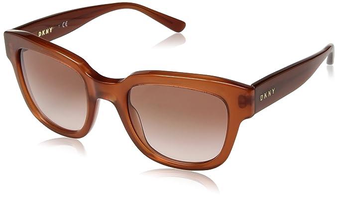 DKNY DY4145 Sonnenbrille Dunkler Bernstein 3726/13 52mm CUGTk