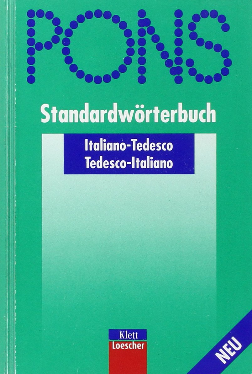 PONS Standardwörterbuch, Italienisch