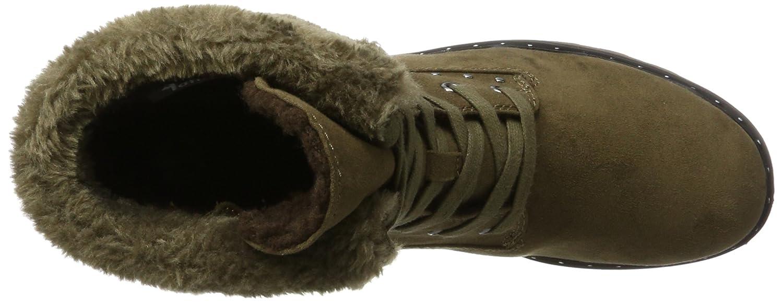 Tamaris Damen 26712 Combat Stiefel (Moss) Grün (Moss) Stiefel 5187e4