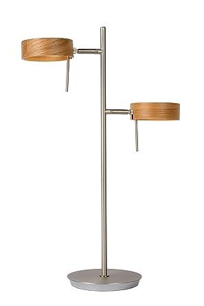 Lucide 48551/10/72 lámpara de mesa, metal, 10 W, cromo mate ...