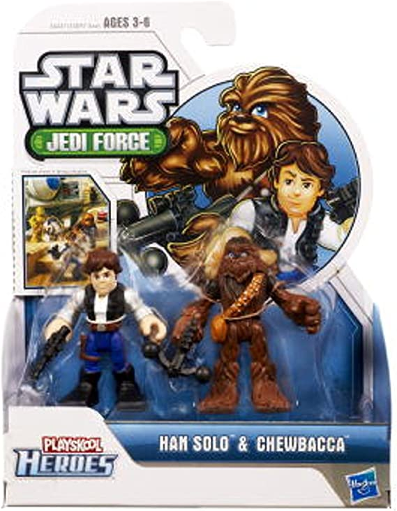 Star Wars Master Yoda Jedi Action Figures Playskool Galactic Heroes Toys 2.5/'/'