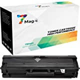 7Magic Compatible Toner Cartridge Replacement for Samsung MLT-D111S 111S MLT-D111L 111L Use in Samsung Xpress SL-M2020 M2020W M2070 M2070W M2070FW M2070F M2022 M2022W (1 Black Toner)