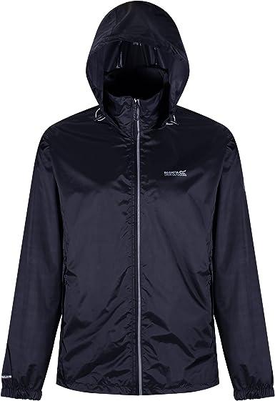 Regatta Mens Lyle IV Waterproof Hooded Jacket Top Red Sports Outdoors Full Zip