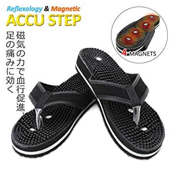 54c44f5f754 U.S. Jaclean Foot Reflexology Sandals for Mens Womens Therapeutic  Acupressure Magnetic.