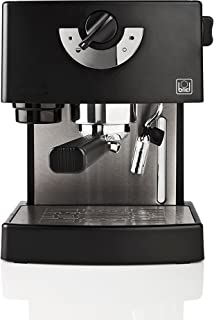 Briel ES 74 - Cafetera espresso, 1260 W, color negro