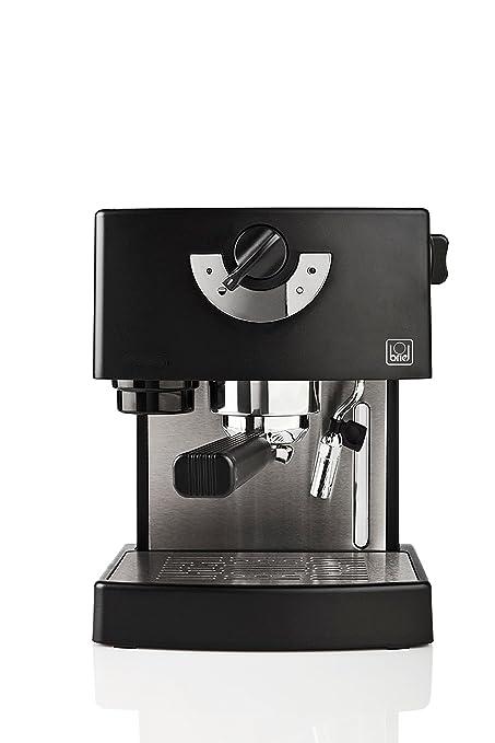 Briel ES 74 - Cafetera espresso, 1260 W, color negro: Amazon.es: Hogar