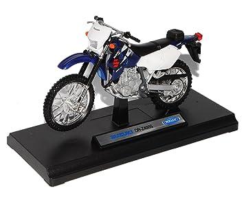 Suzuki Dr Z400s Z 400 S Blau Weiss Enduro 1 18 Welly Modellmotorrad Modell