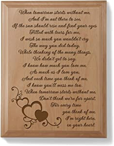Kate Posh - A Letter From Heaven Wood Plaque