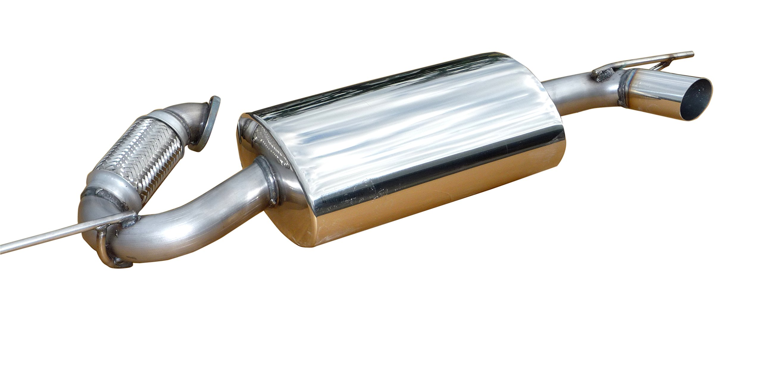 Solo Performance Cat Back Exhaust For 2007 - 2015 Smart Car Side Exit Quiet Exhaust by Solo Performance (Image #1)