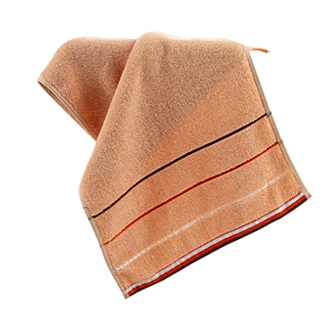 hoomall toallas de baño absorbentes lavables en máquina, poliéster, diseño 2, 34x75cm