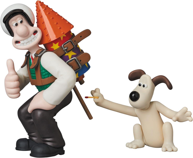 Medicom Aardman Animations 2 Wallace /& Gromit Ultra Detail Figure