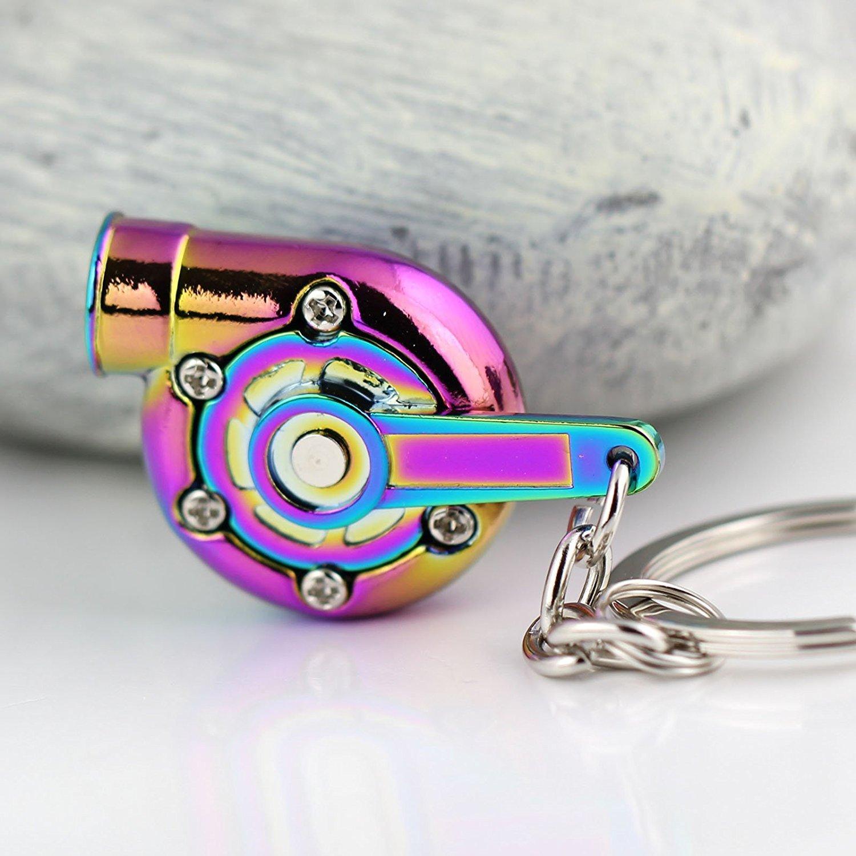 Amazon.com: GT//Rotors - Juego de 3 llaveros giratorios de ...
