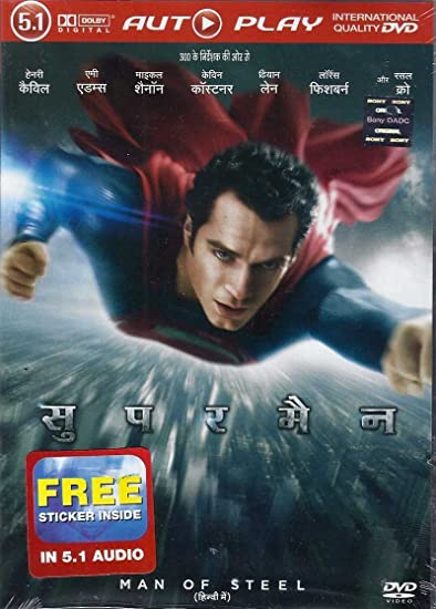 Amazonin Buy Man Of Steel Hindi DVD Blu Ray Online At Best Prices In India