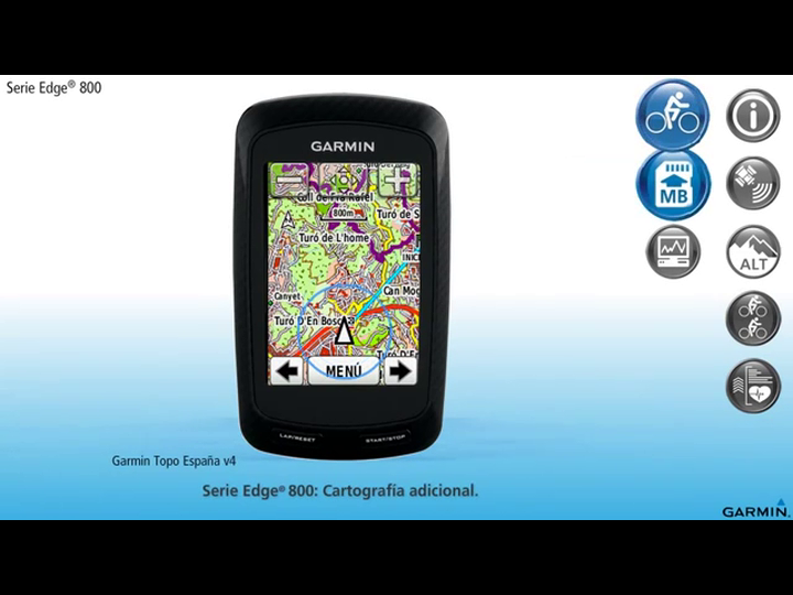 Garmin Edge 800 Performance Bundle - Navegador GPS con pulsómetro ...
