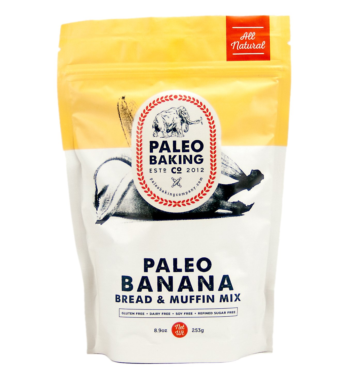 Paleo Baking Company Paleo Banana Bread Cake & Muffin Mix