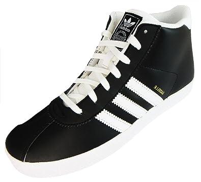 Adidas Gazelle Mid Kids Shoes Black White