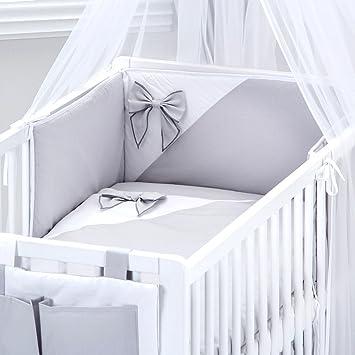 BB-CAMARADE - Set 5 pcs de linge de lit bébé EVOLUTIF: tour de lit ...