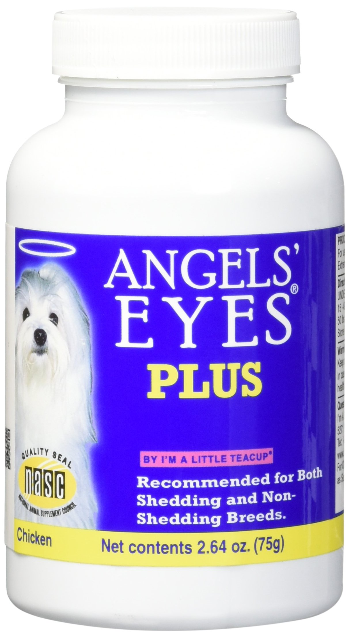 Angel Eyes PLUS Dog Tear Stain Remover Chicken 75 g