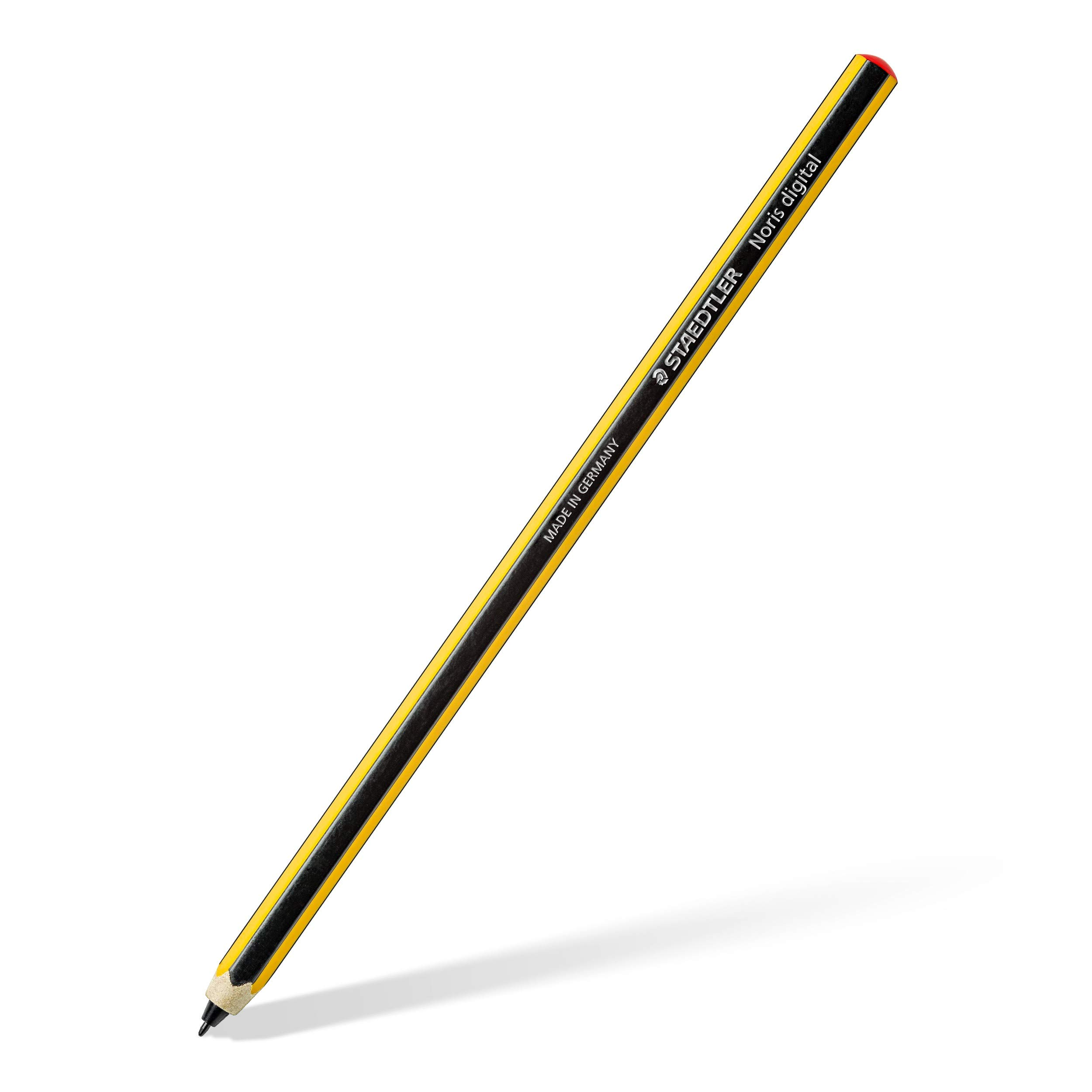 STAEDTLER Staedtler 180 22-1 Noris Digital Stylus; Fine 0, 7 mm Tip and A Pencil Design For Natual Writing on EMR Touchscreens