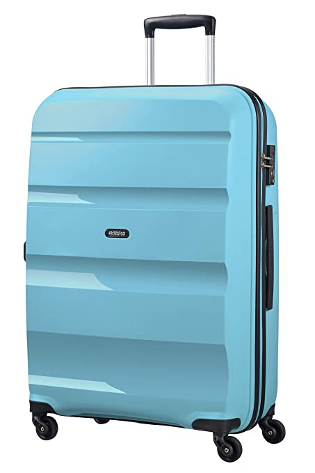 2244c0306 American Tourister Bon Air - Spinner Large Suitcase, 75 cm, 91 liters, Blue