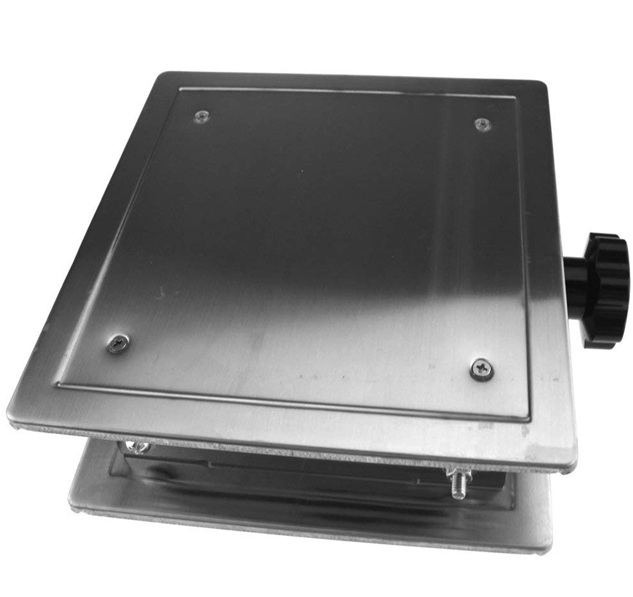 OESS Lift Table Lab Stand Lifter Scientific Scissor Lifting Jack Platform 8''X 8'' Stainless Steel