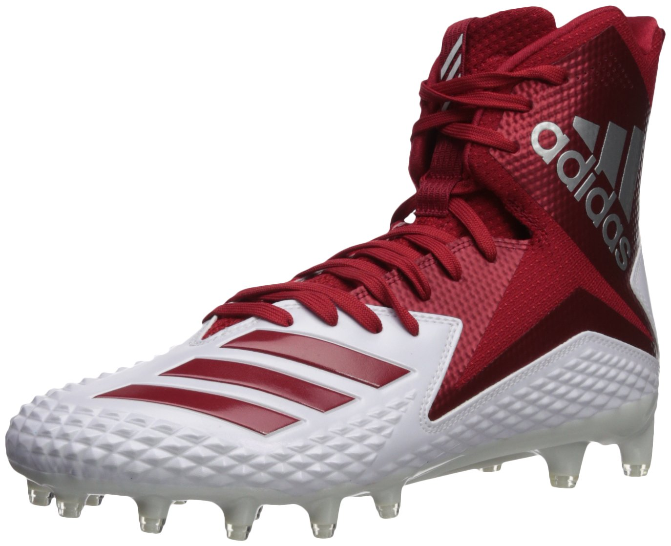 adidas Men's Freak X Carbon Mid Football Shoe B07234KWWY 9 D(M) US|White/Power Red/Power Red
