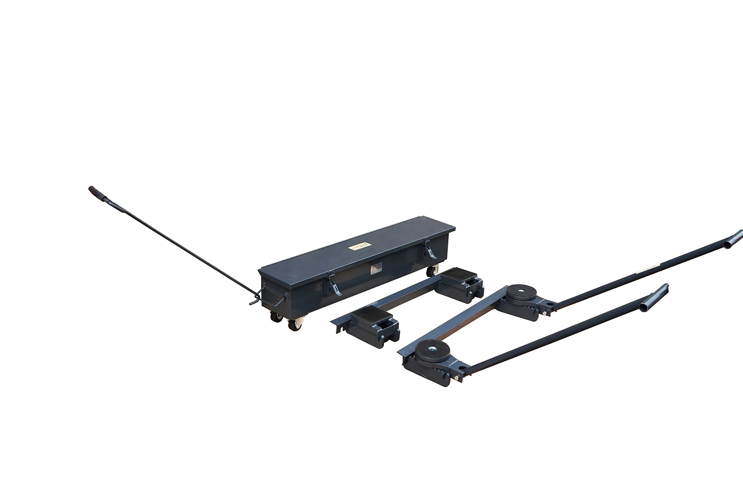 Pake Handling Tools - Equipment Roller Skate Kit, 44000lbs
