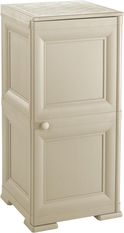 Tontarelli 8085564210EAN - Armario Alto para baño, Color Beige ...