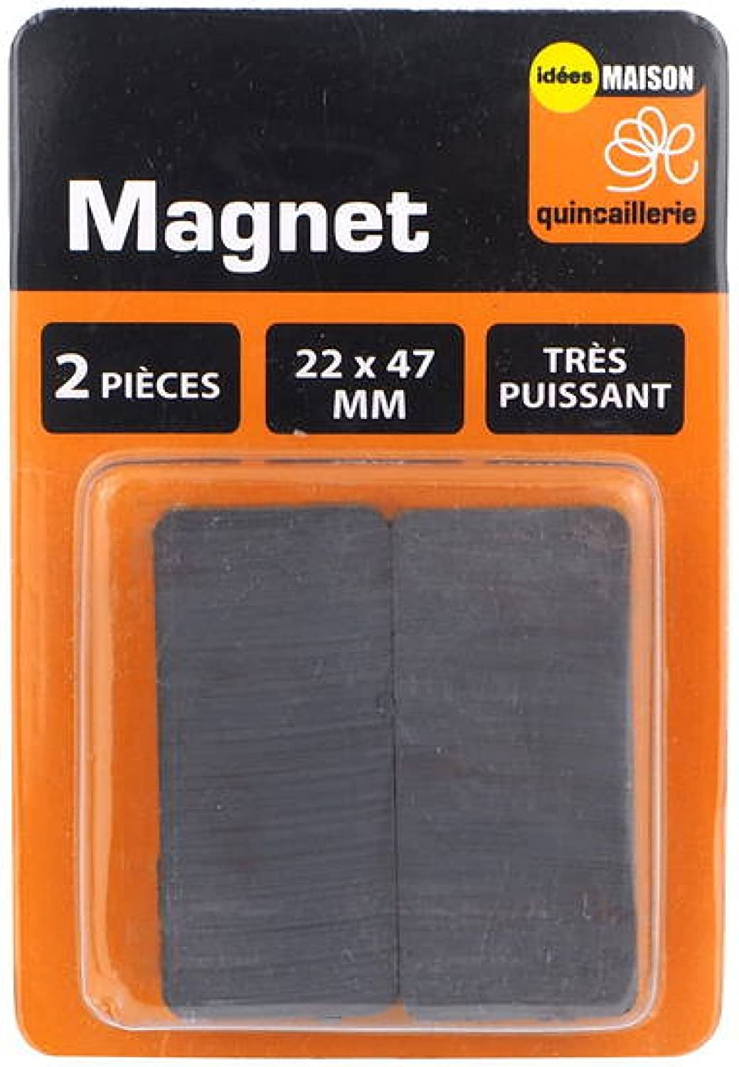 Les 2 aimants magnets ferrite permanents trè s puissants IDEES MAISON