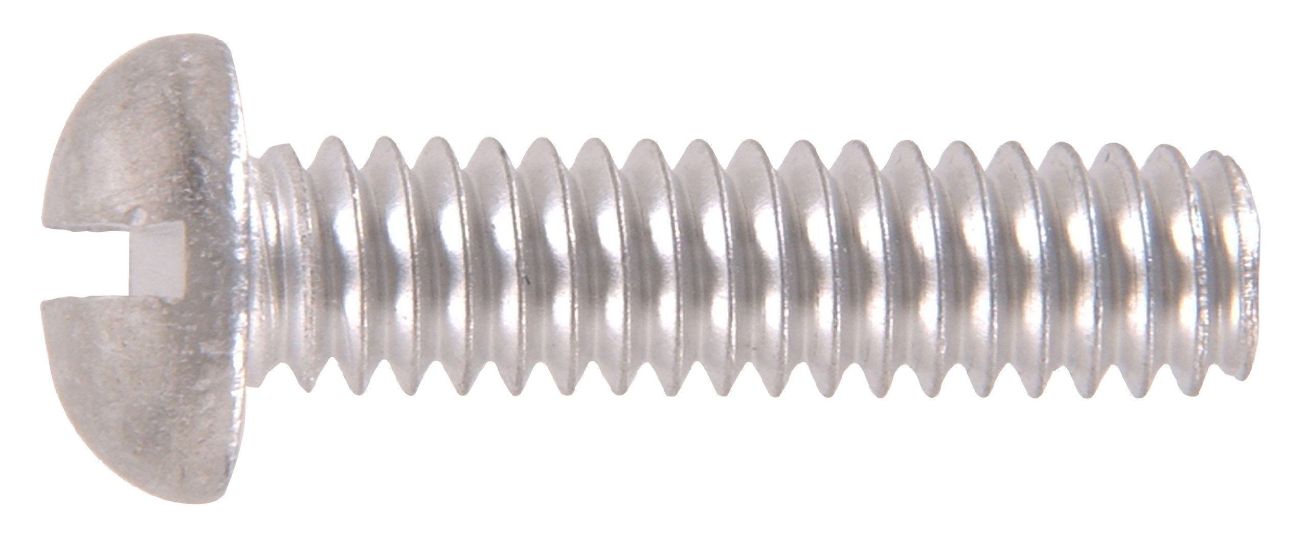 The Hillman Group The Hillman Group 1133 Aluminum Round Head Slotted Machine Screw 1/4-20 x 1 1/2 In. 16-Pack