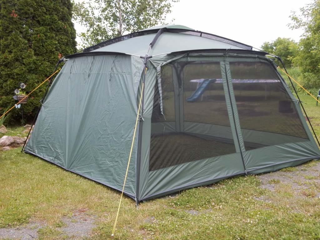 NEW! Yanes Kuche Kitchen Tent (12 x 12 x 7'6'') With Rain Panels, Screen House, Dining Shelter, Tent