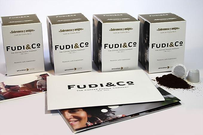Fudi&Co - SOBREMESA Y AMIGOS - Café de Especialidad de Costa Rica - 4 Paquetes de