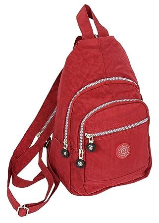 a55e8513d3 Bag Street Petit sac à dos ultra léger City Sport et trekking Crossbody  Femme Sac à