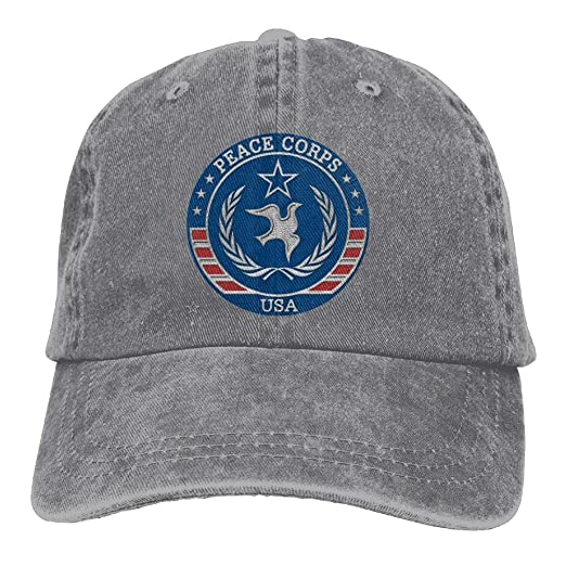 569b3937c39 Embroidery Men s Baseball Dad Hat - Peace Corps at Amazon Men s Clothing  store
