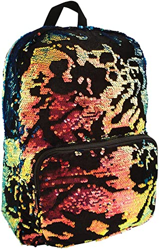 Style.Lab Fashion Angels Scattered Magic Sequin Velvet Jewel Backpack